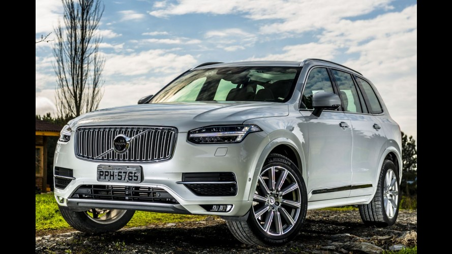 "Mais seguro do mundo: Volvo XC90 ganha prêmio ""Best in Class"""