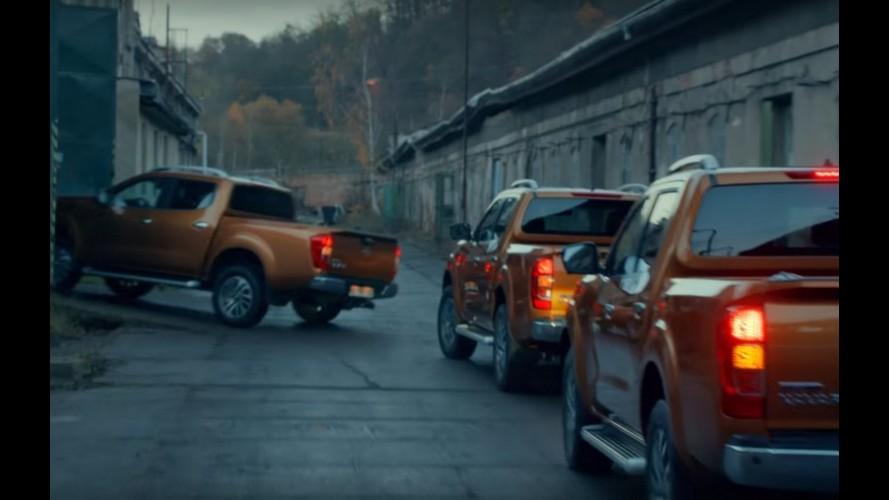 Vídeo: nova Nissan Frontier ajuda a demolir fábrica abandonada em comercial