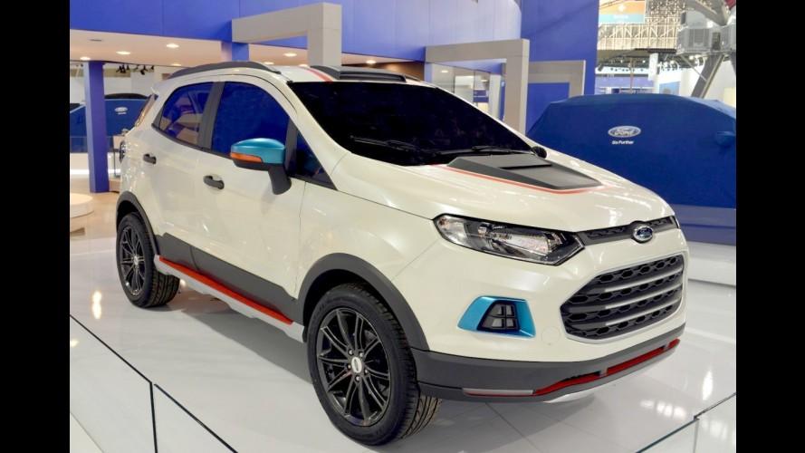 Ford EcoSport pode ganhar versão híbrida por volta de 2020