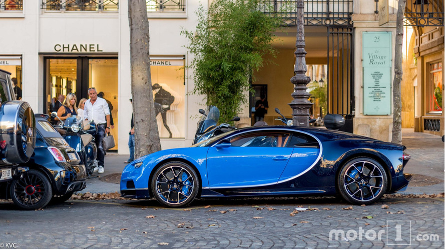 Photos exclusives Bugatti Chiron Paris