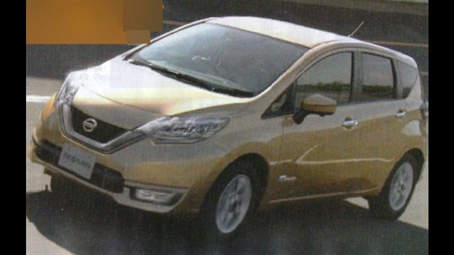 Nissan Note: vazam fotos do modelo reestilizado em inédita versão híbrida