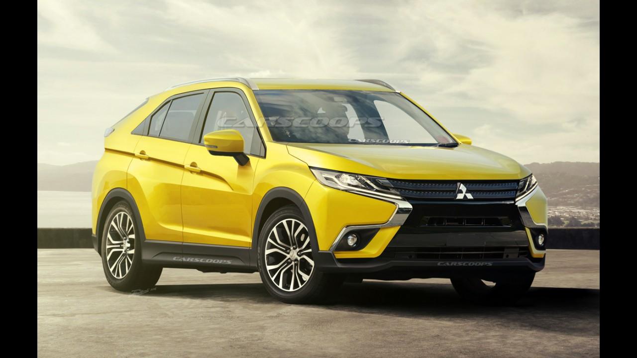 Projeção: Nova geração do Mitsubishi ASX terá design baseado em conceito esportivo