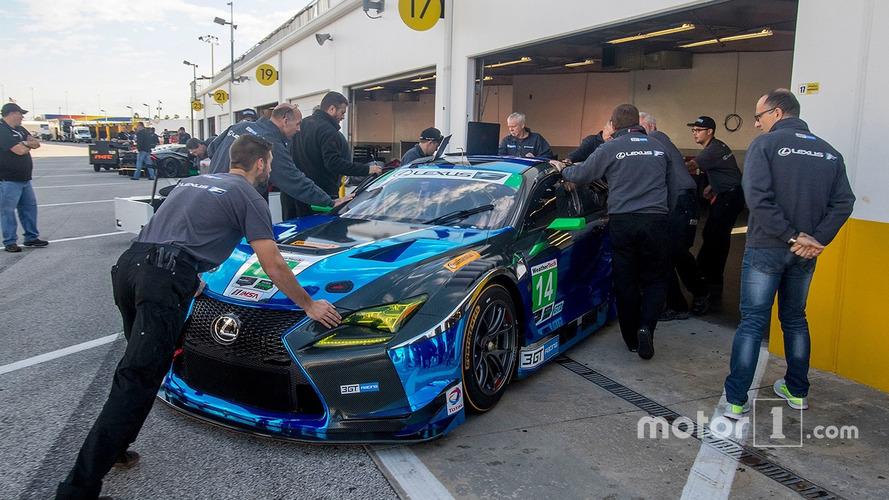 La nouvelle Lexus RC F GT3 se prépare pour ses débuts à Daytona