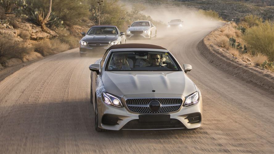 Premier contact - La Mercedes Classe E enlève le haut !
