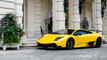 KVC - Deux Lamborghini Murcielago à Paris