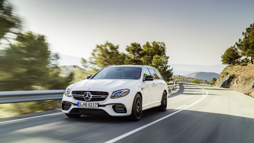 Kaslı Station Wagon: 2018 Mercedes-AMG E63 S Wagon