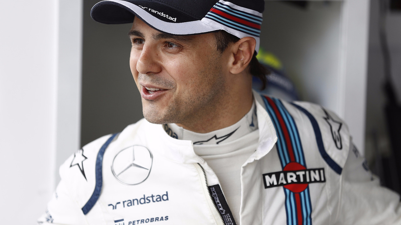 Felipe Massa no GP do Brasil 2016