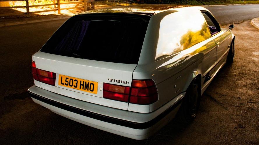 BMW 5 serisi mor kürklü