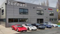 Ferrari s'installe au Mans