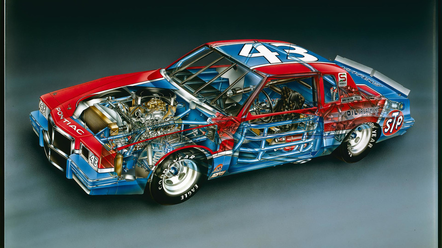 1982 Richard Petty No. 43 Pontiac Grand Prix David Kimble