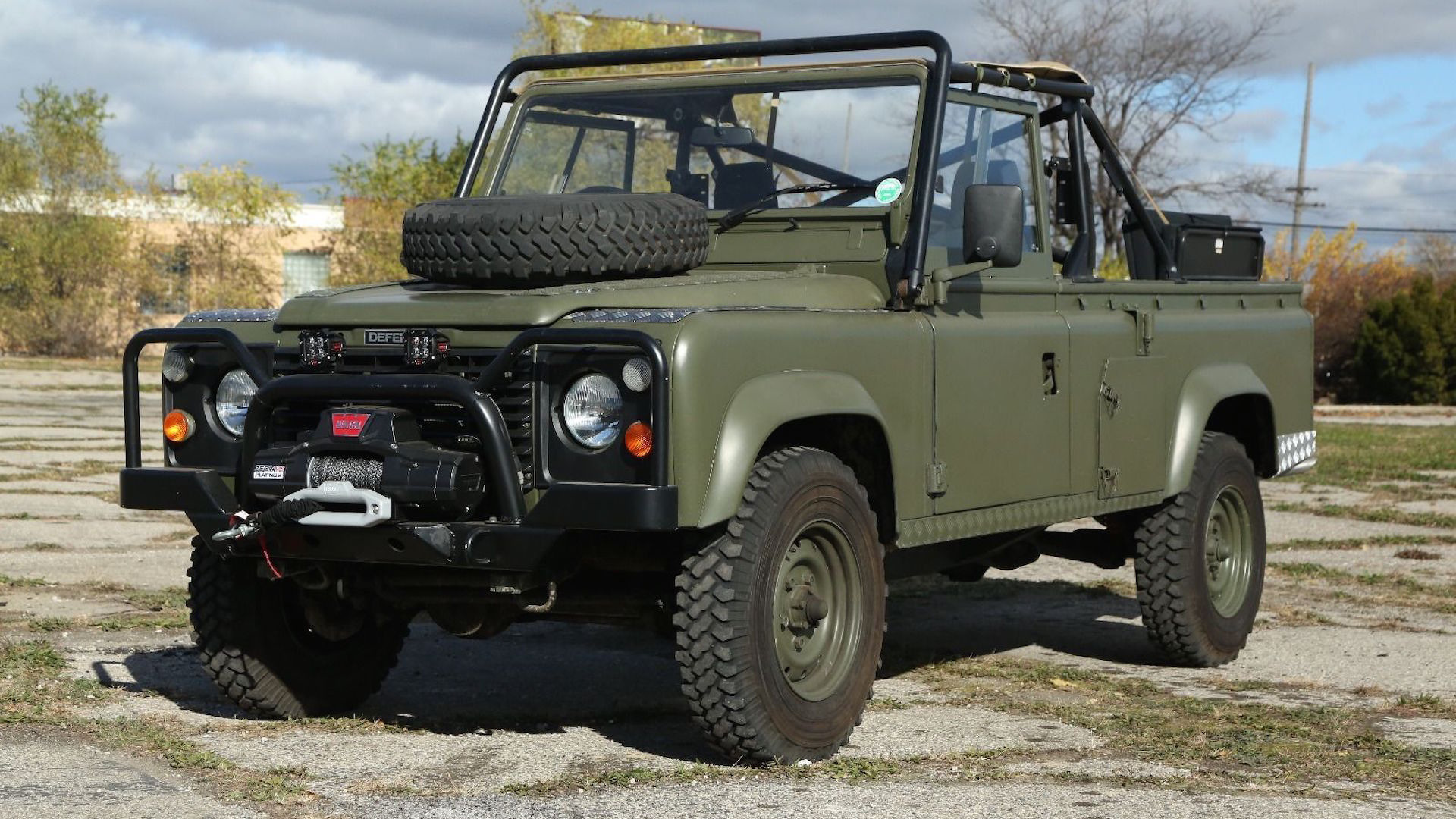 This Land Rover 110 Is The Military Vehicle Youve Always Wanted Defender Clutch
