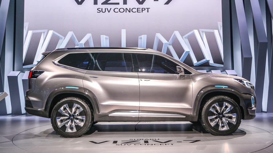 205 Inch Long Subaru Viziv 7 Concept Is