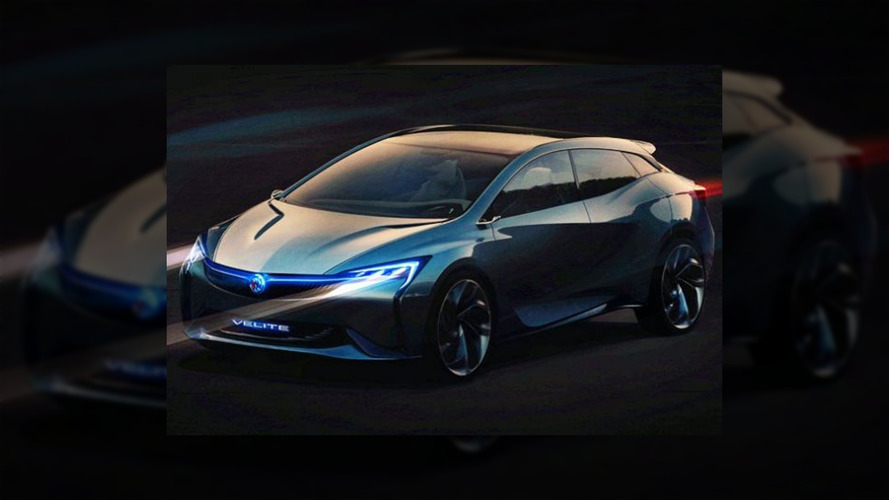 Buick Velite concept leak reveals it looks nothing like the Volt