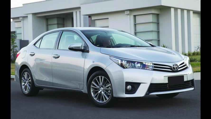 Toyota Corolla foi o carro mais vendido no mundo em 2015 - veja lista