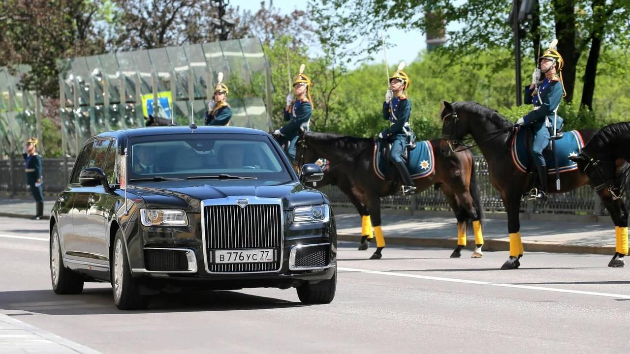 Vladimir Putin's new limo