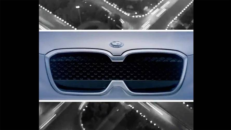 BMW Teases Electric iX3 SUV Ahead Of Debut Just Days Away