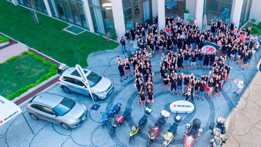 Suzuki, V-Strom Türkiye Kulübü'nün 10'uncu yaşını kutladı!
