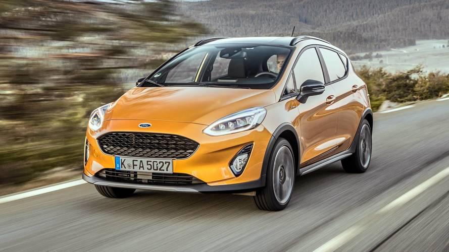 Ford Fiesta Active: маленький и высокий