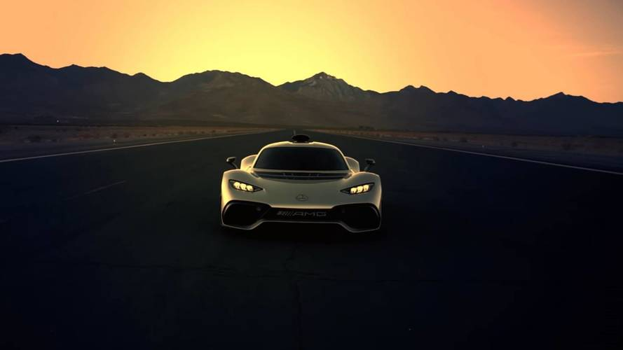 Mercedes-AMG Project One Looks Fast Even When Standing Still