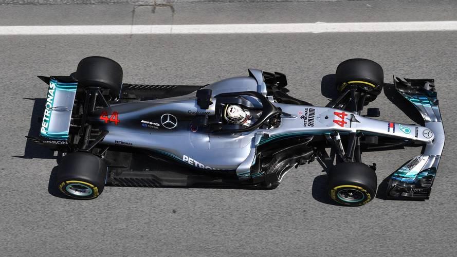 Hamilton deja al Mercedes al frente en los segundos libres del GP de España