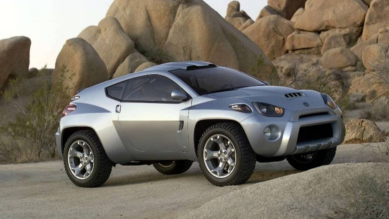 Toyota RSC (Rugged Sport Coupé) Concept