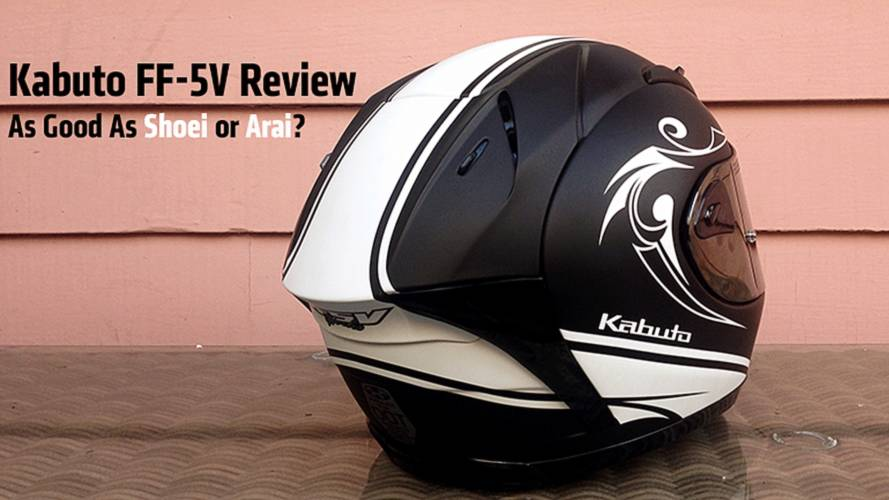 Gear Review: Kabuto FF-5V Helmet