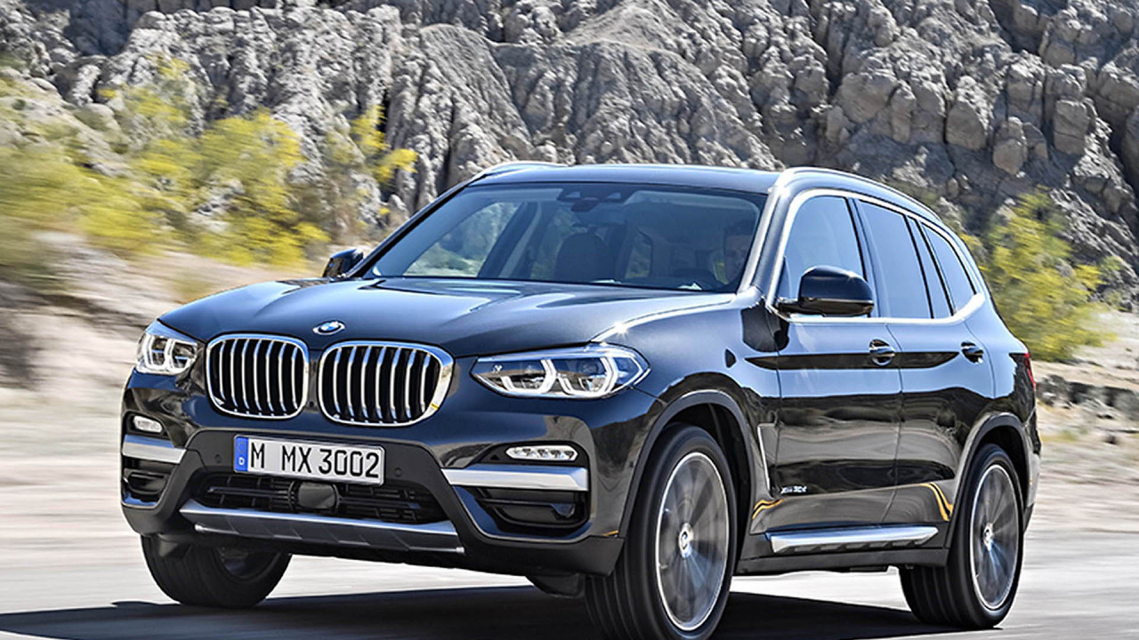 Platz 10: BMW X3