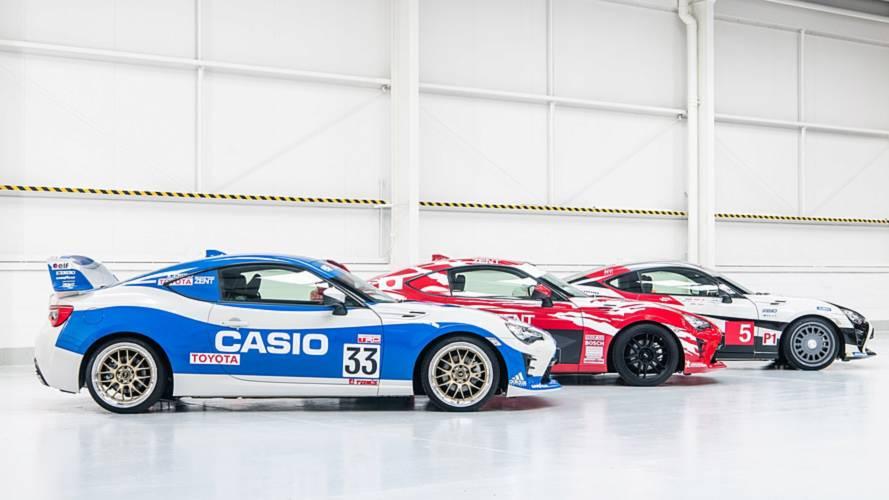 Toyota 86 Gets Three Heritage Liveries Celebrating Le Mans