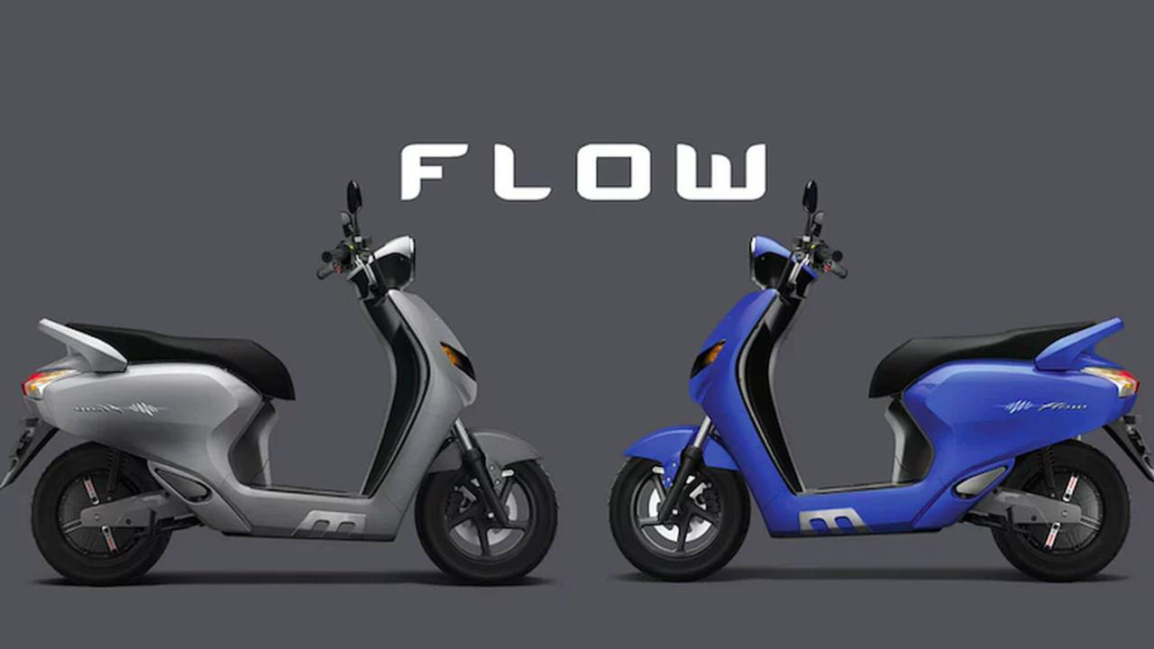 "Indian Startup Introduces New ""Flow"" Smart E-Scooter"