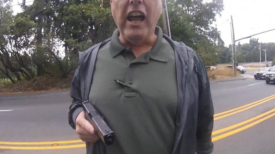 UPDATE: Washington Detective Given 5 Day Suspension for Drawing Gun on Biker