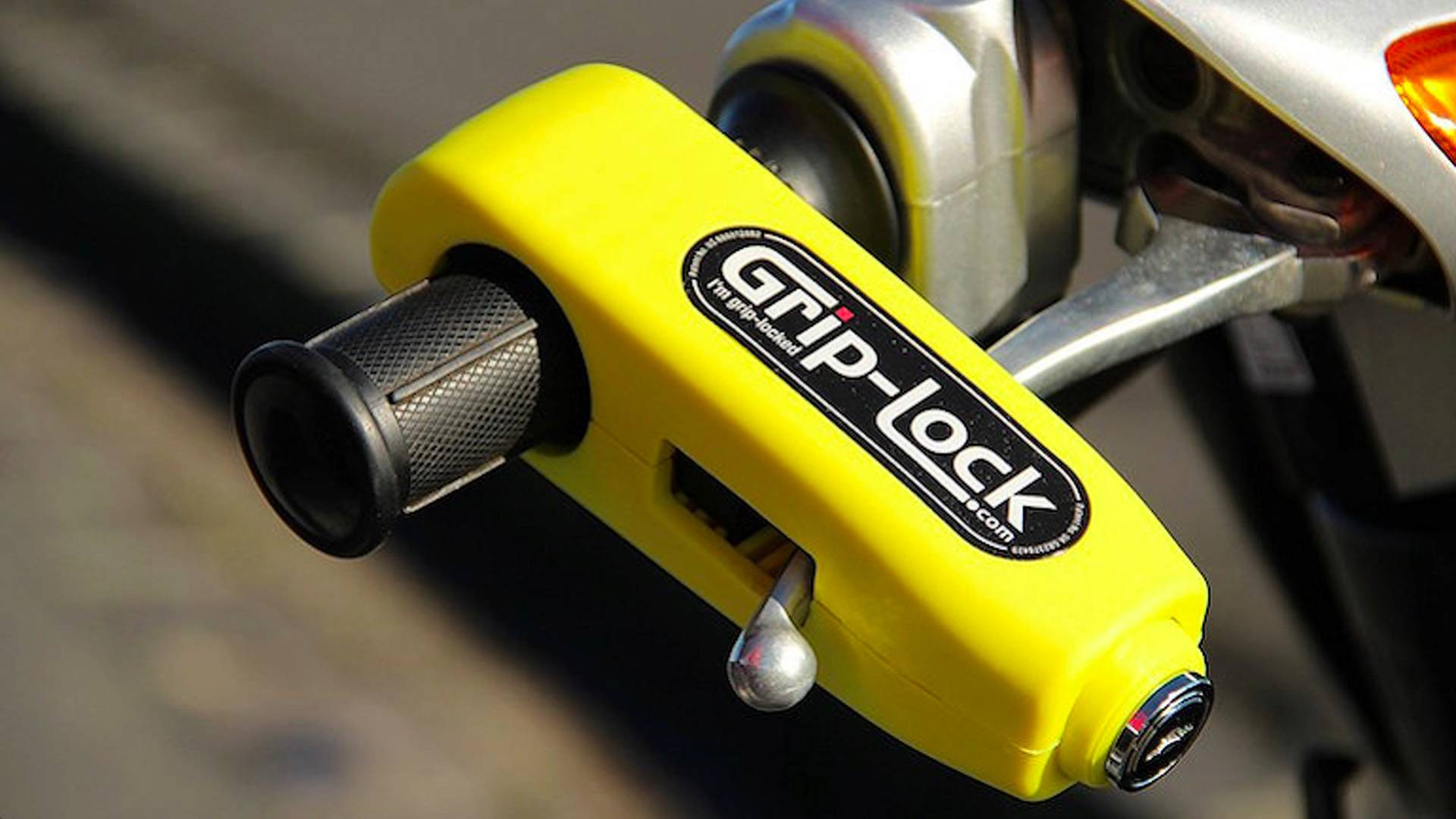 Meet Grip-Lock: The Pocket-Sized Motorcycle Anti-Theft Device