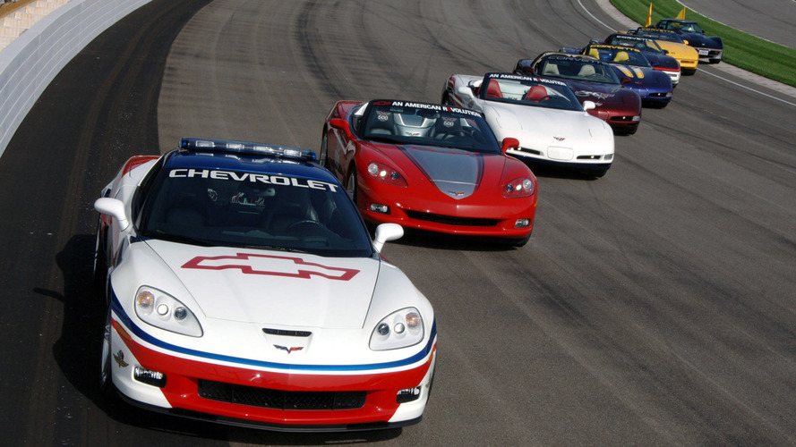 Check Out The 17 Times The Chevy Corvette Has Paced The Indy 500