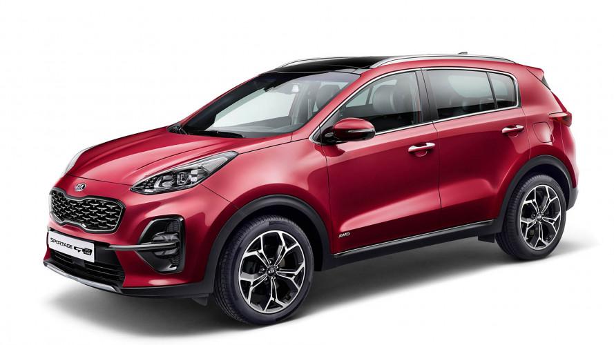 Kia Sportage: Facelift (2018)