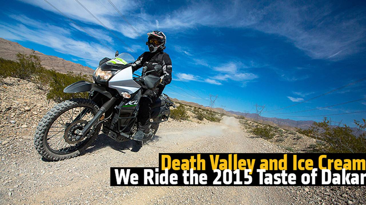 Death Valley and Ice Cream - We Ride the 2015 Taste of Dakar