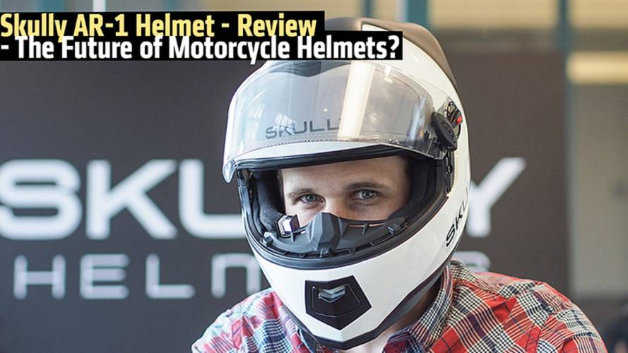 Skully AR-1 Helmet Review - The Future of Motorcycle Helmets?