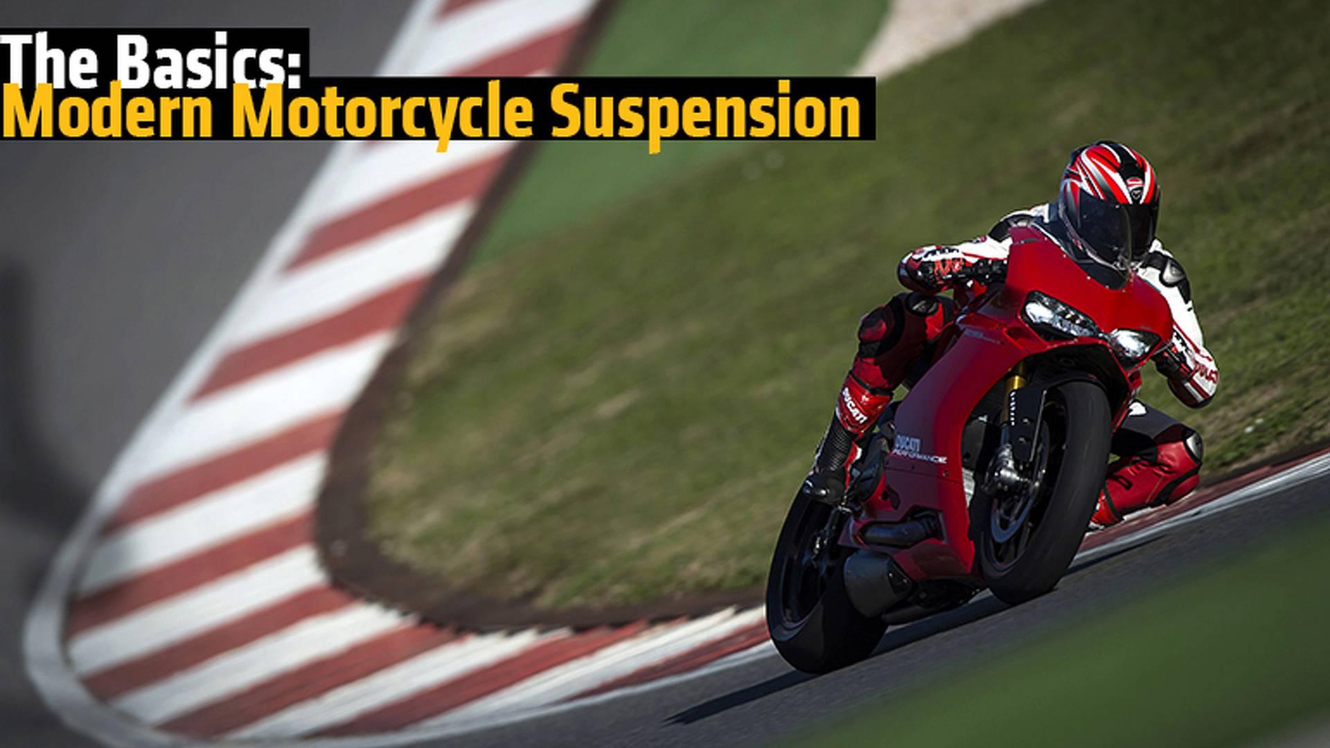 The Basics: Modern Motorcycle Suspension