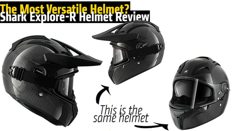 The Most Versatile Helmet? Shark Explore-R Review