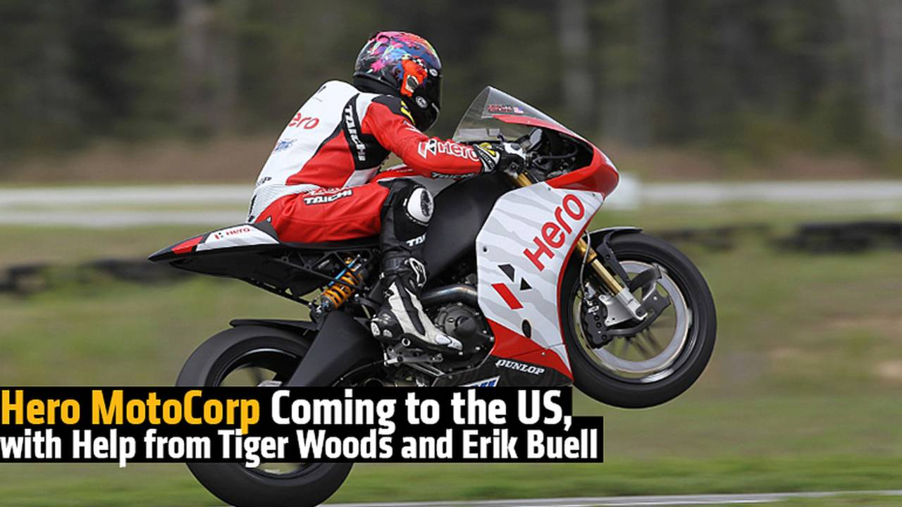 Hero MotoCorp Coming to the US, with Help from Tiger Woods and Erik Buell