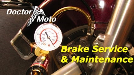 Dr. Moto Presents: Brake Service and Maintenance