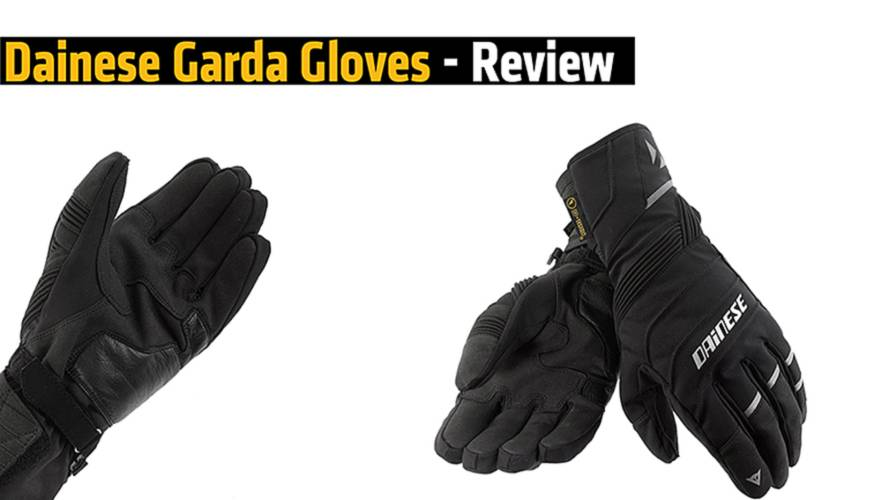 Review: Dainese Garda Gloves