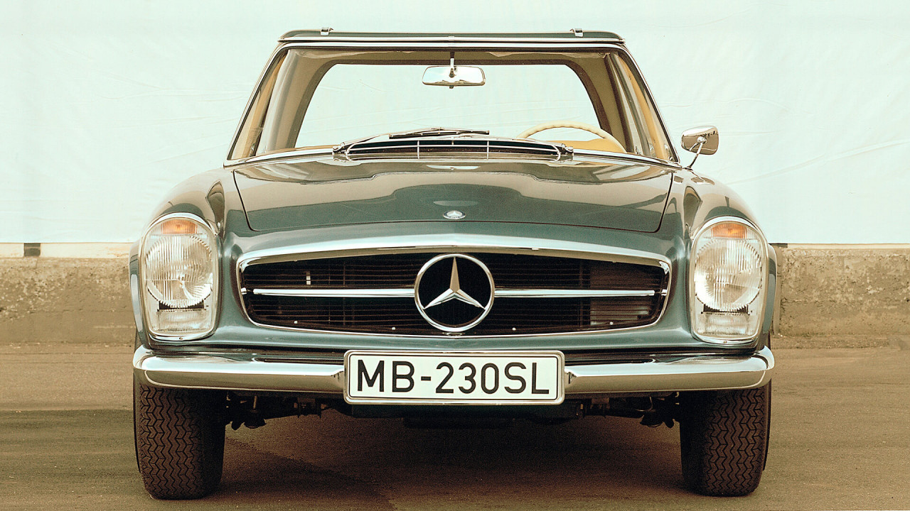 "Mercedes SL (W 113): ""Pagode"""