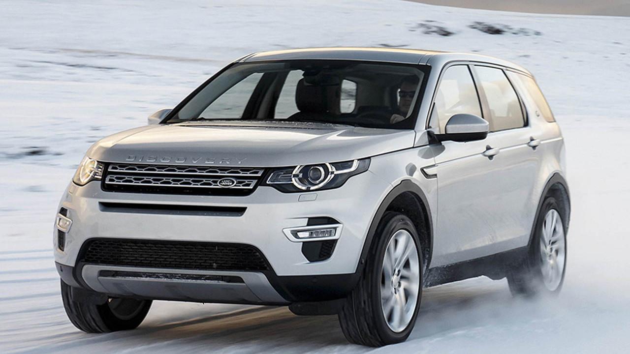 Platz 8: Land Rover Discovery Sport