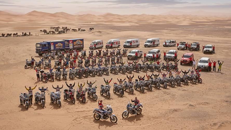 Gran éxito del Honda Africa Twin Morocco Epic Tour 2018