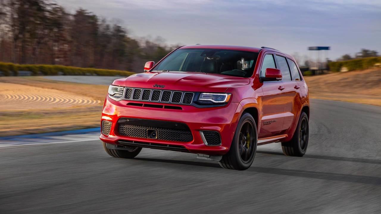 2.- Jeep Grand Cherokee 6.2 V8 HEMI Trackhawk