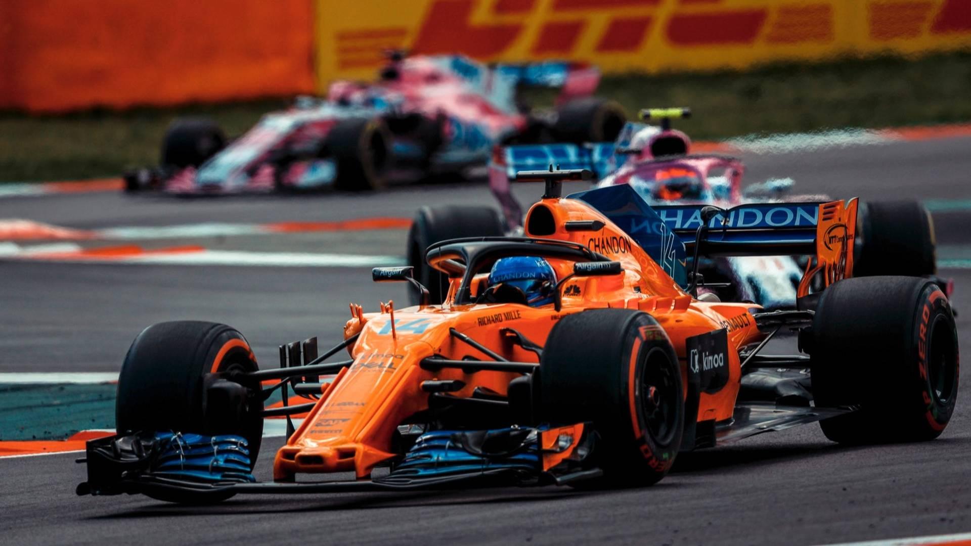 16525f636ef8ee McLaren s Halo gets cheeky flip-flop sponsorship for good cause