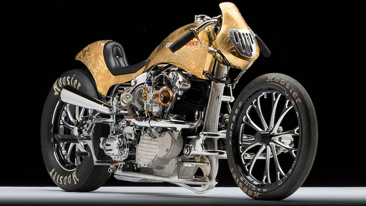 "Bike of the Week: Custom Works Zon's ""Zonnegodin"""