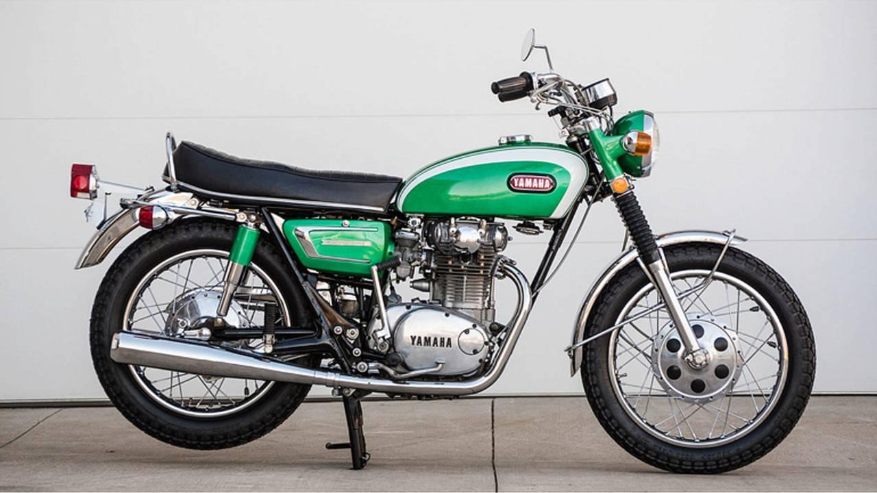 The Iwata Bonneville - A Short History of the Yamaha XS-1