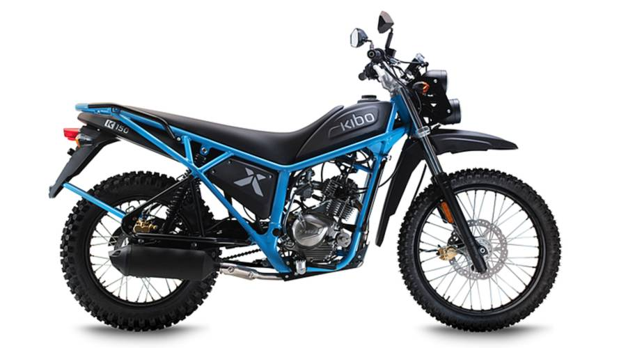 Kibo K150 - Dutch Builder Addresses African Moto Safety