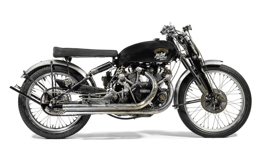 Famed Vincent on Block at Bonhams Vegas Auction