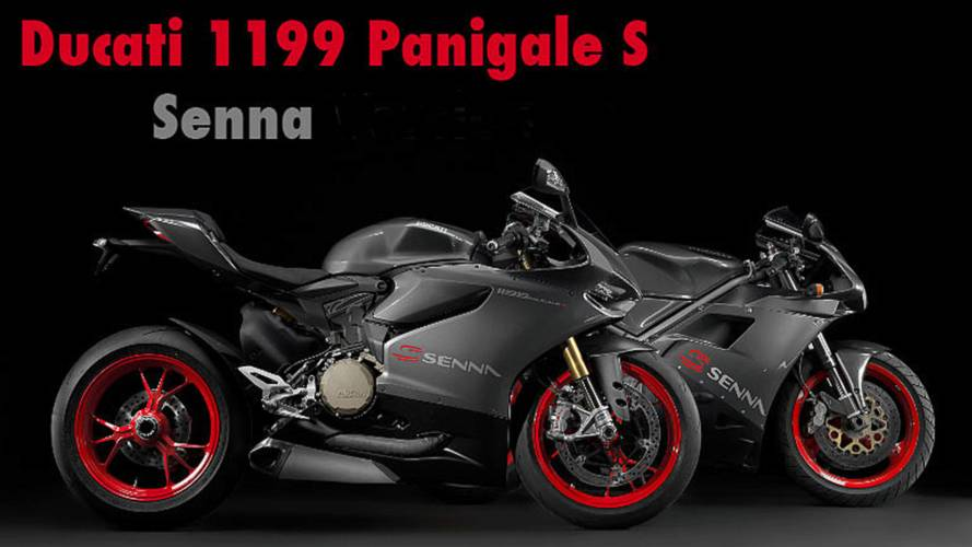 First Look: Ducati 1199 Panigale S Senna Limited Edition